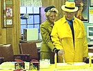 Dick Tracy & Tess during the annual Dick Tracy Days Celebration at the Pawnee County Historical Society Museum
