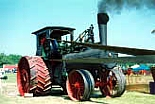 The Famous Oklahoma Steam Threshers & Gas Engine Show takes place at the Pawnee County Fairgrounds